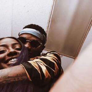 Wizkid and girlfriend Justine Skye share adorable photo